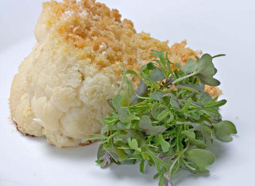 CauliflowerGratinRedMustardLimePickleCrumbs