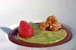 Caraibepuddingstrawberrywalnutavocado