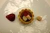 Chocolatetartletwhiteasparagusstrawberry