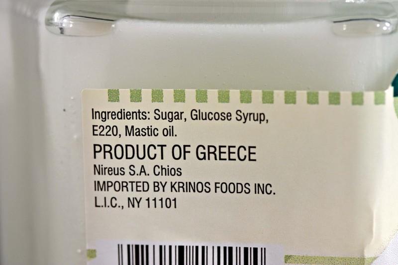 Masticjaringredients