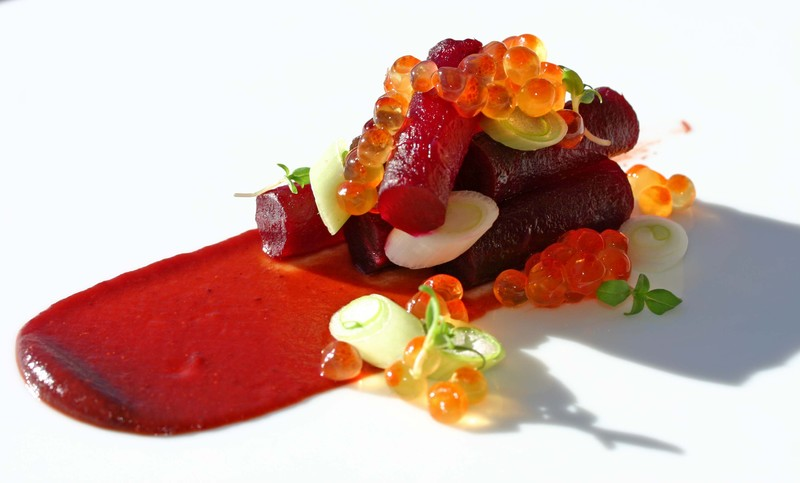 Beetsakeroecranberrymisosavoryscallion