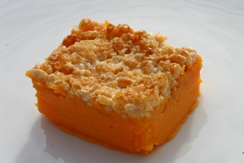 Sweetpotatoricekrispytreatcrust