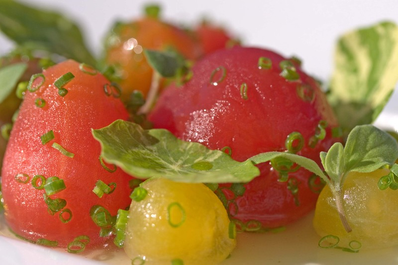 Tomatoroquefortwaternasturtium